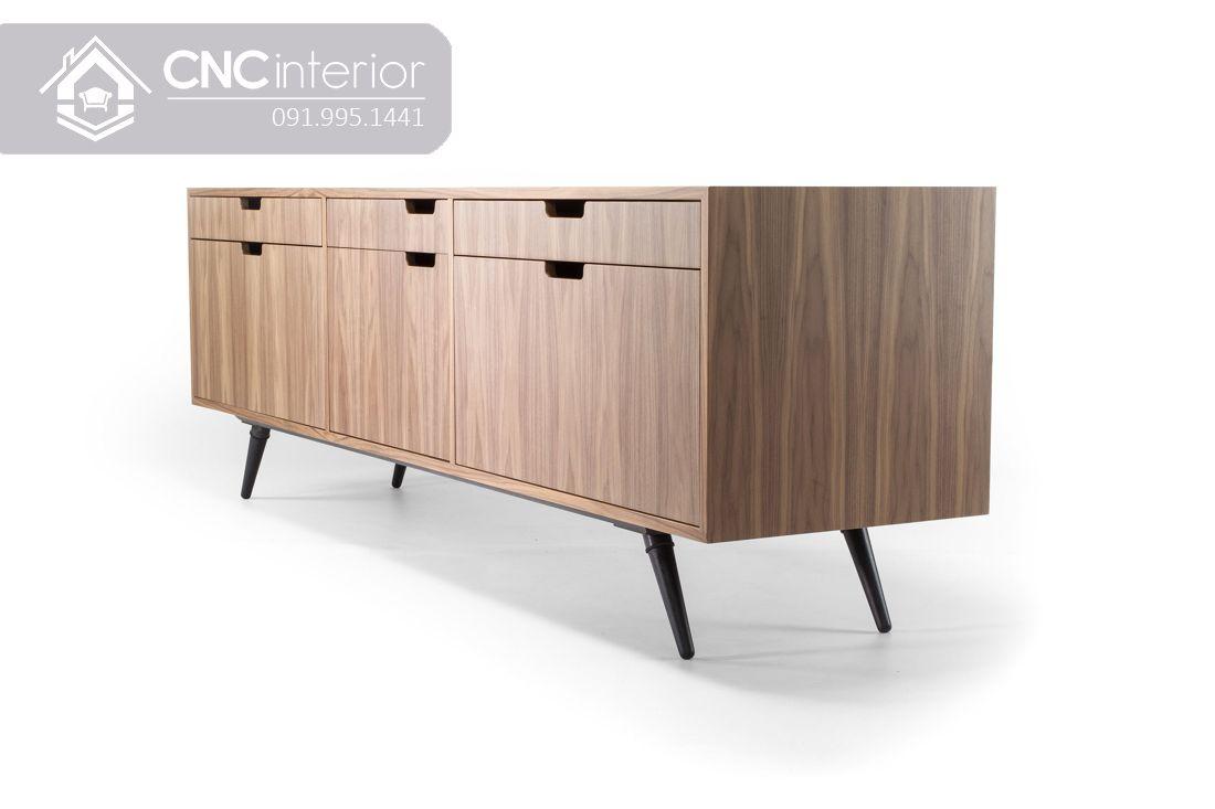 Kệ tivi bằng gỗ MFC đẹp hiện đại CNC 60