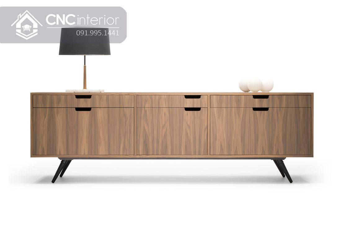 Kệ tivi bằng gỗ MFC đẹp hiện đại CNC 60 1