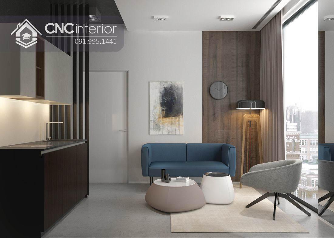 căn hộ Sala Contemporary 94m2 cô Dung