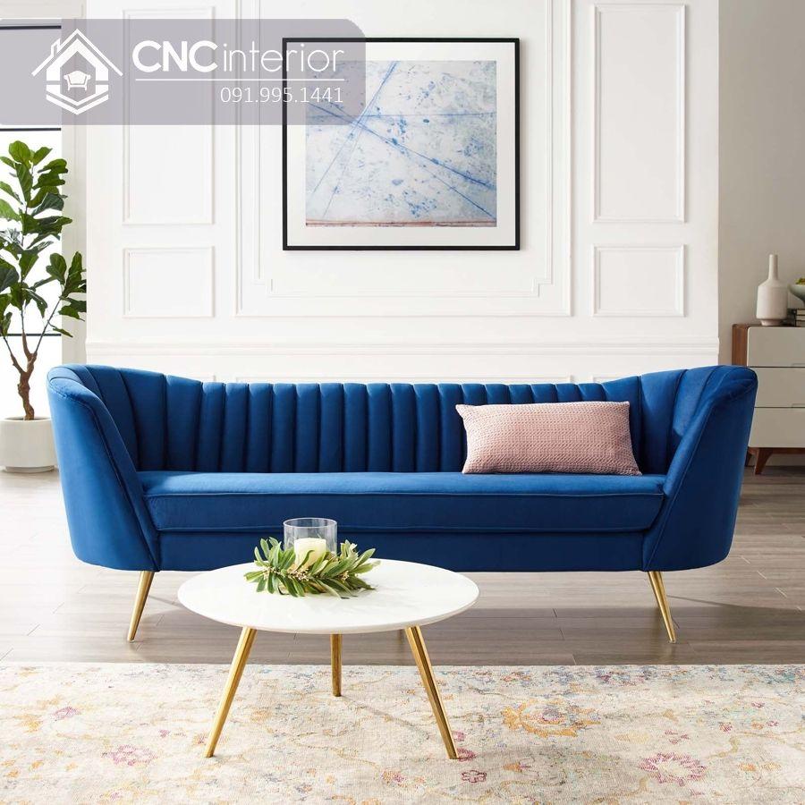 Sofa chữ I nhỏ phong cách đương đại CNC 01