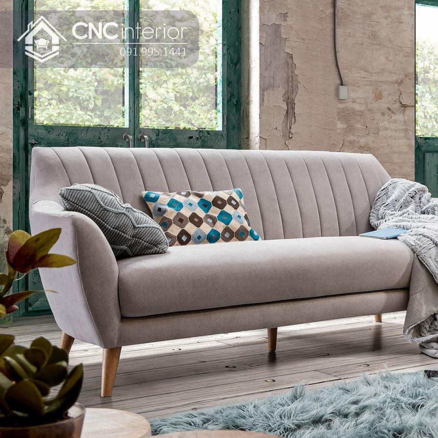 Sofa chữ I nhỏ phong cách đương đại CNC 01 1
