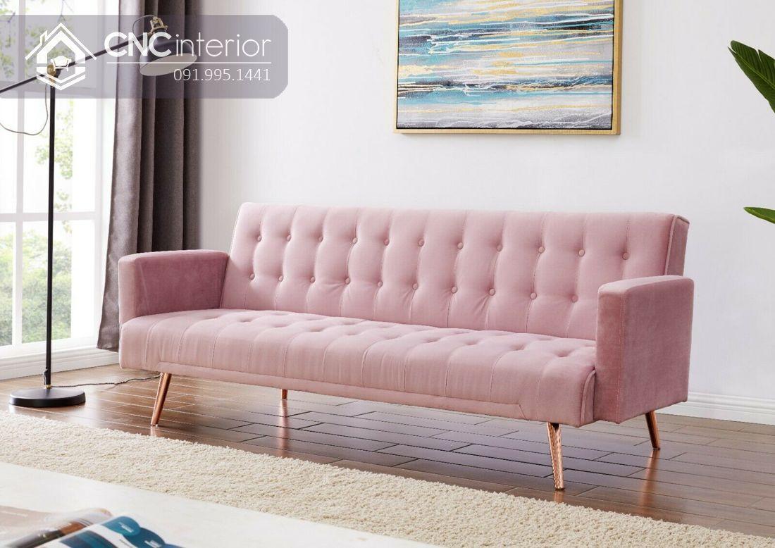 Ghế sofa nhỏ gọn sang trọng CNC 02