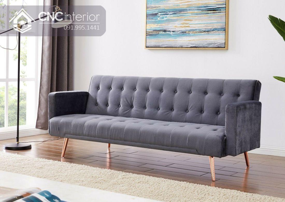 Ghế sofa nhỏ gọn sang trọng CNC 02 1
