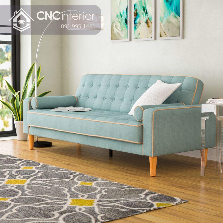 Sofa đẹp hiện đại cho phòng khách nhỏ CNC 03 3