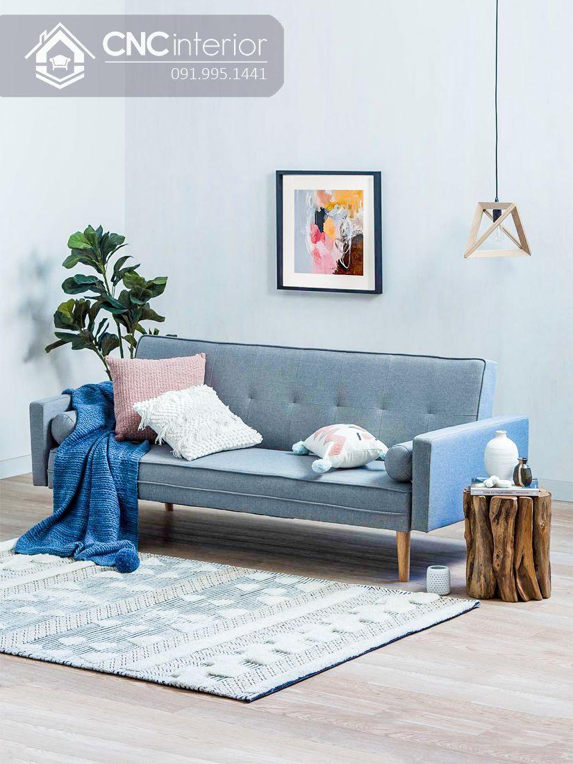Sofa đẹp hiện đại cho phòng khách nhỏ CNC 03 4