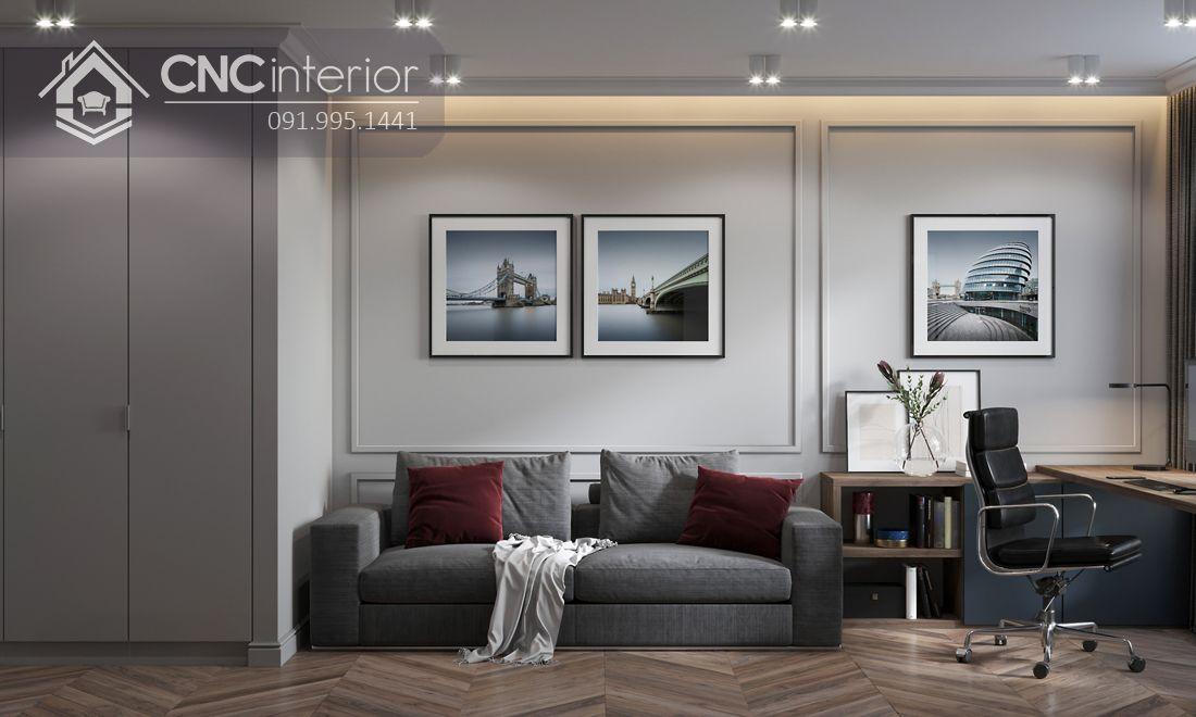 Phong cách Modern sang trọng cho thiết kế Officetel đẹp 3