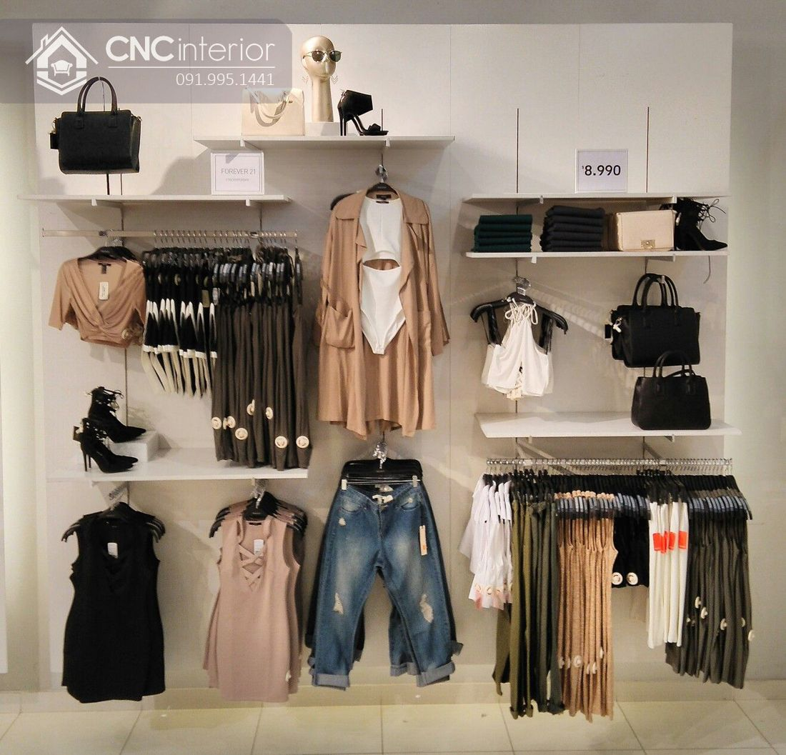 thiết kế shop quần áo nữ 13