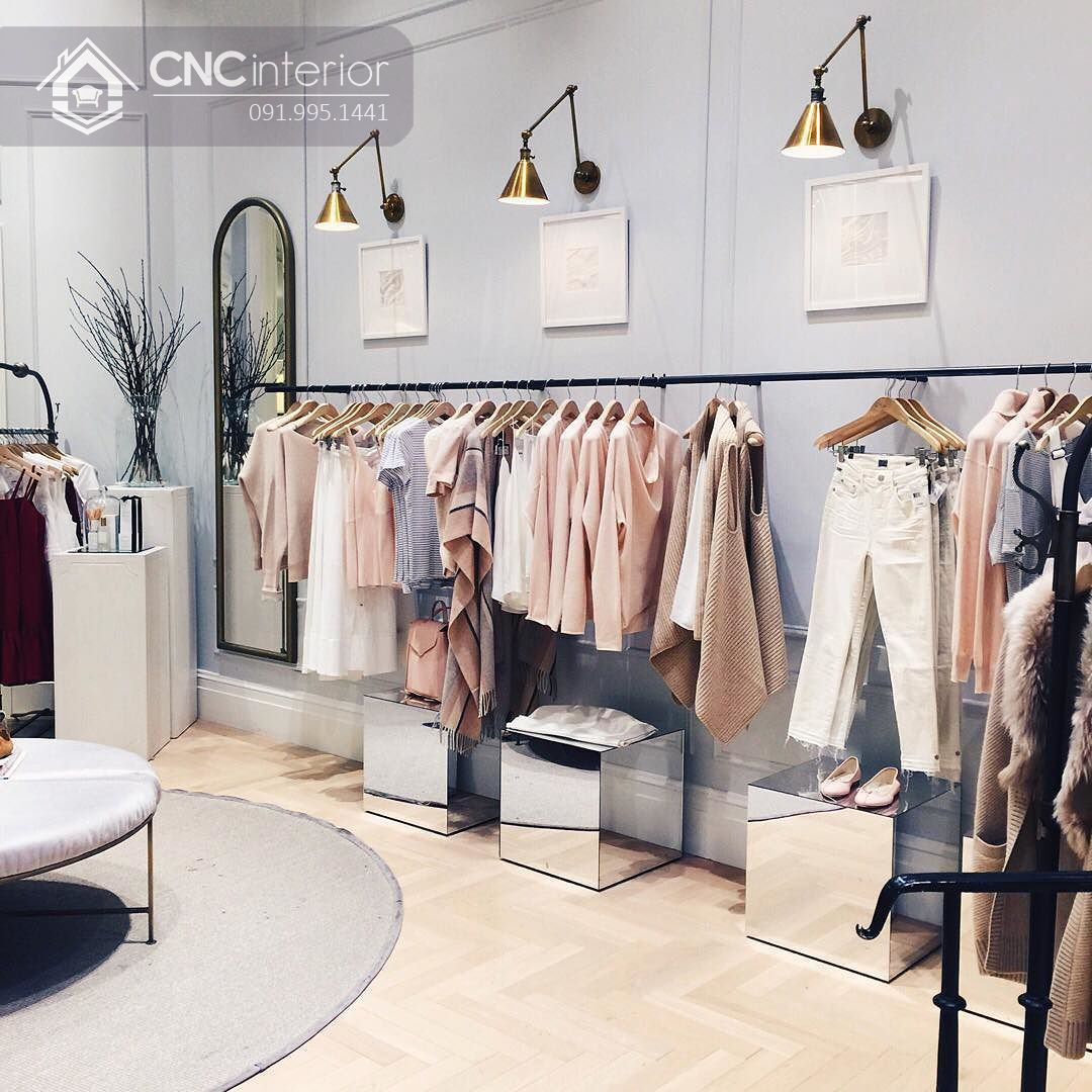 thiết kế shop quần áo nữ 11