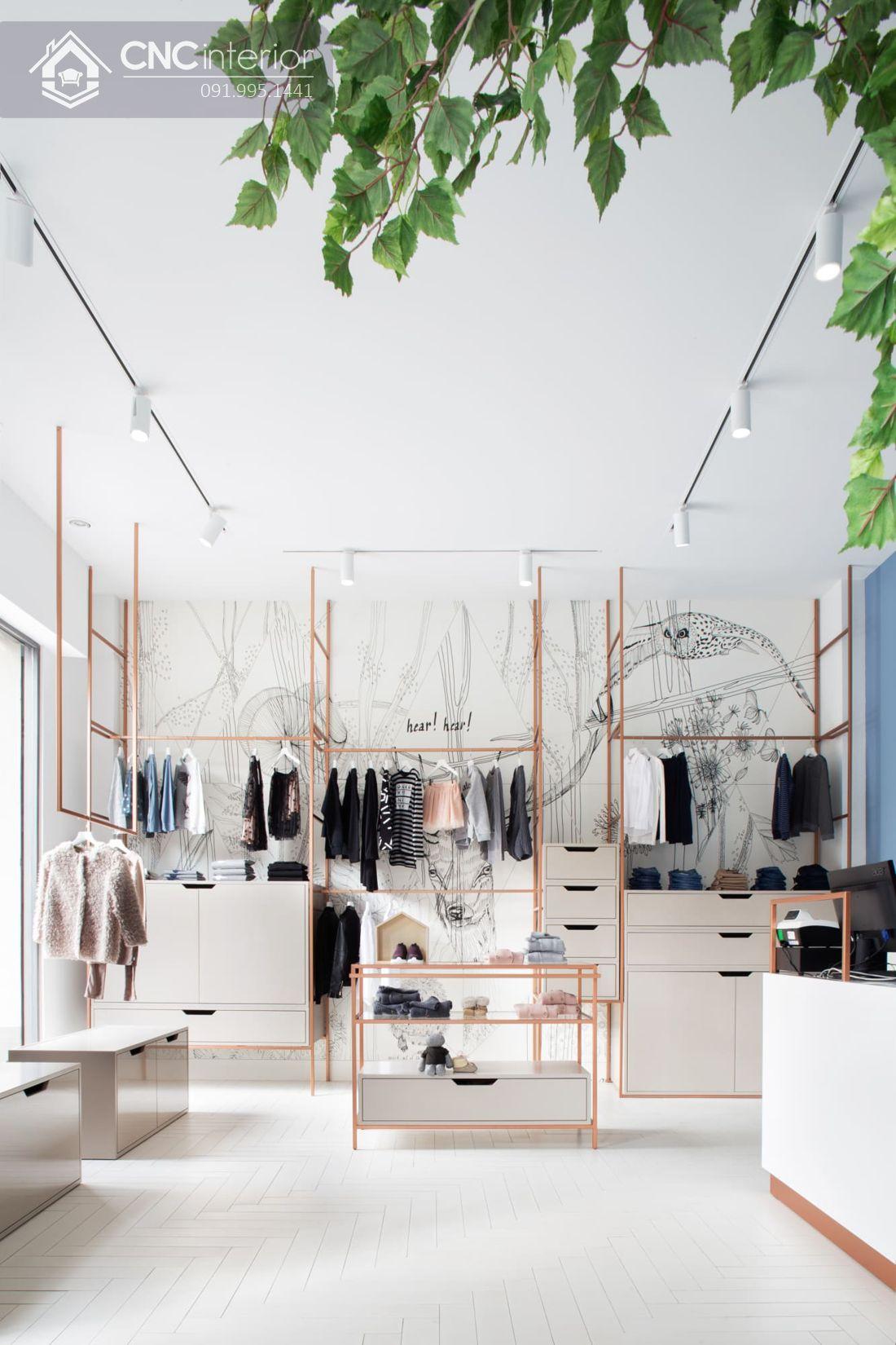 thiết kế shop quần áo nữ 5