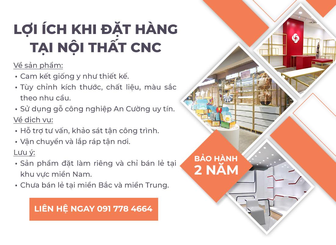 giá treo cố định trên tường CNC 03 3