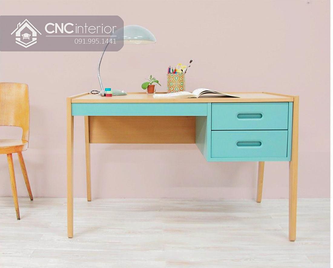 Bàn học nhỏ gọn cho trẻ em CNC 09