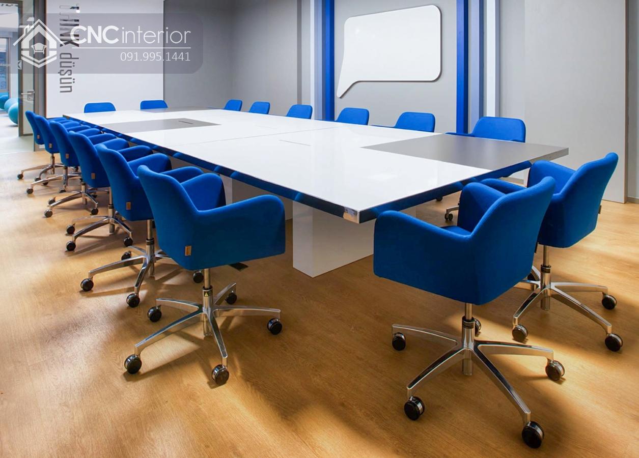Bàn phòng họp lớn sang trọng CNC 16