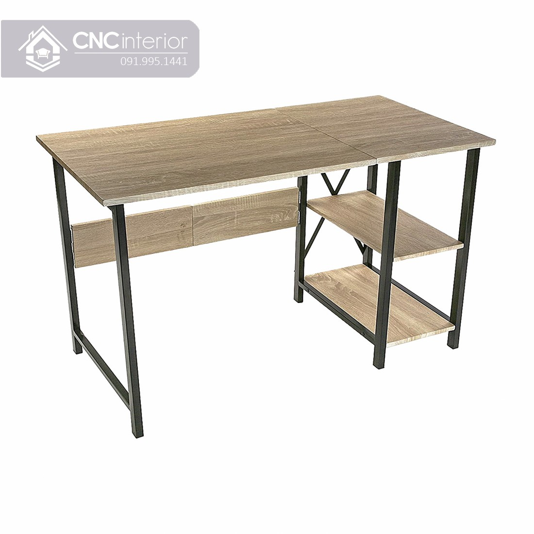 Bàn làm việc tại nhà bằng gỗ đơn giản cá tính CNC 37 2