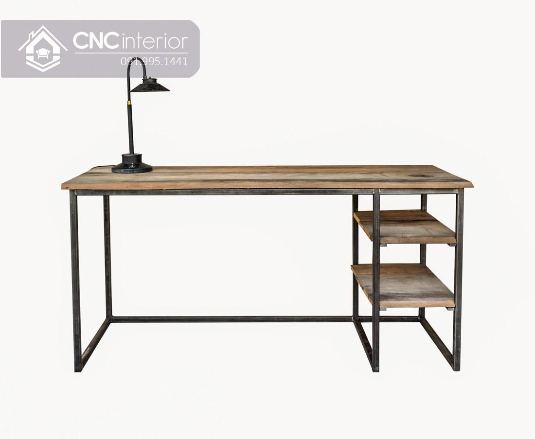 Bàn làm việc tại nhà bằng gỗ đơn giản cá tính CNC 37