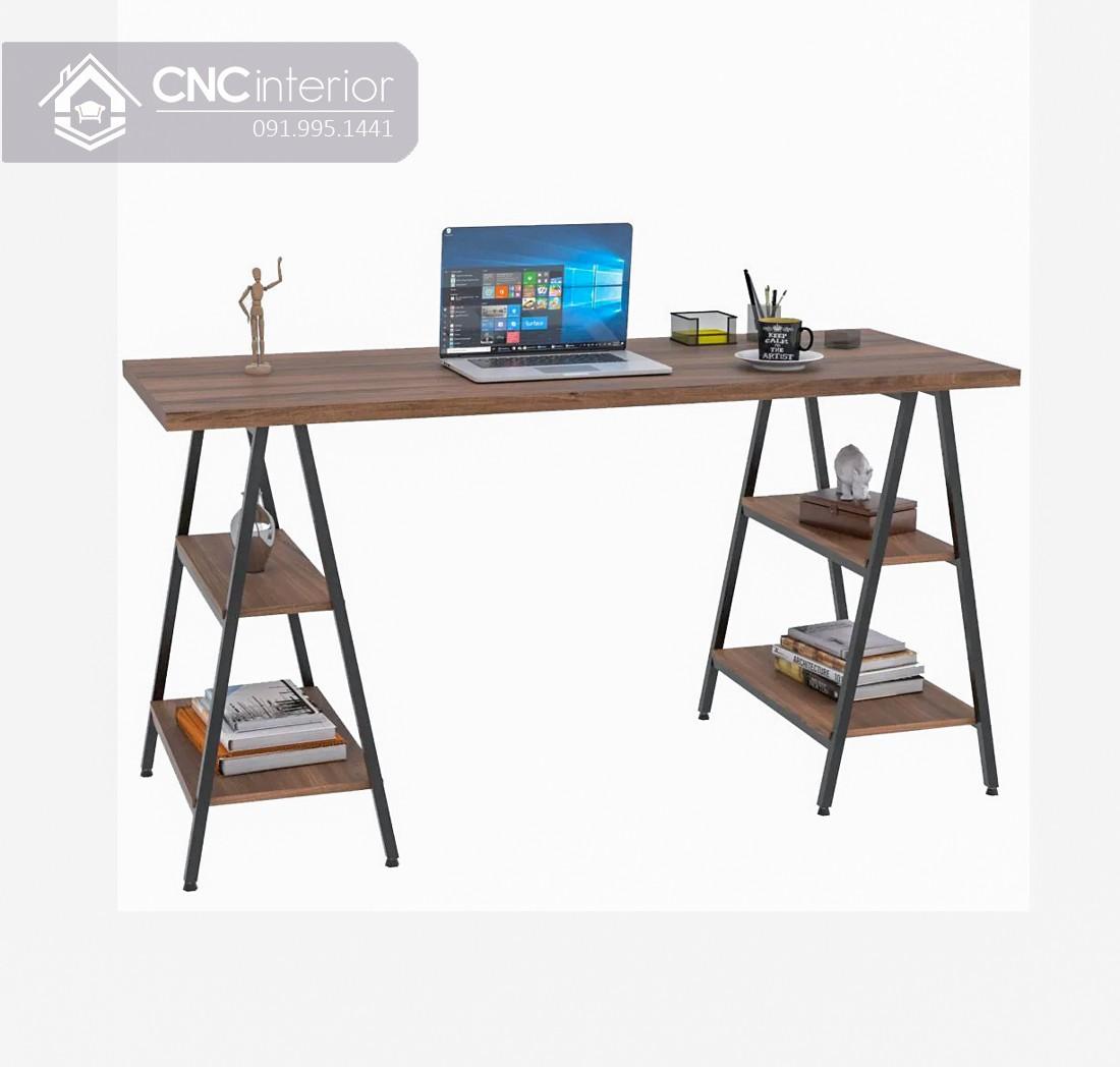 Bàn làm việc tại nhà bằng gỗ đơn giản cá tính CNC 37 1