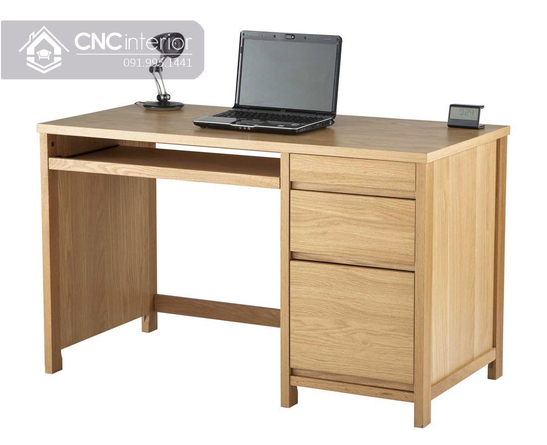 Bàn làm việc bằng gỗ công nghiệp chất lượng CNC 24