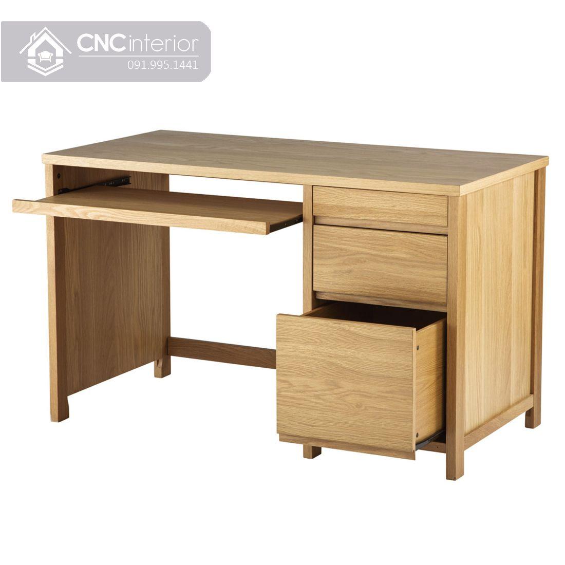 Bàn làm việc bằng gỗ công nghiệp chất lượng CNC 24  1