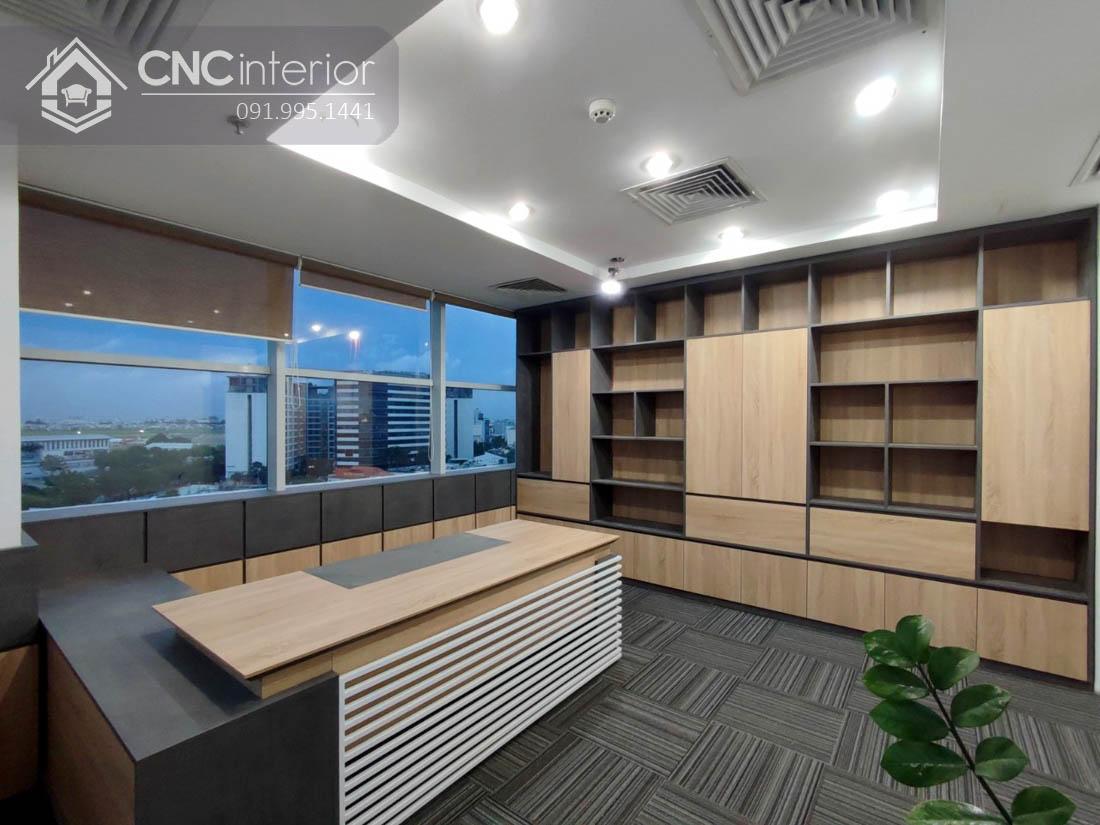 Bàn làm việc tổng giám đốc ấn tượng CNC 21 4