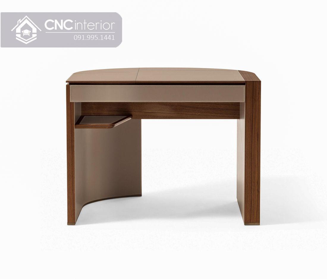 Bàn trang điểm gương lật bằng gỗ công nghiệp CNC 09 1