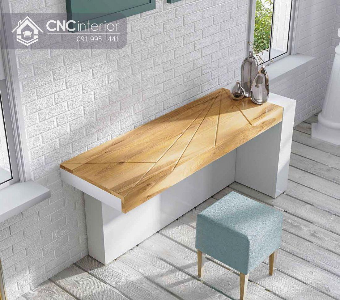 Bàn phấn kết hợp bàn làm việc tiện dụng CNC 21 1