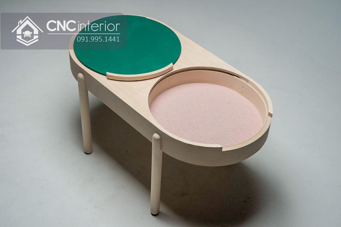 Bàn trà CNC 02