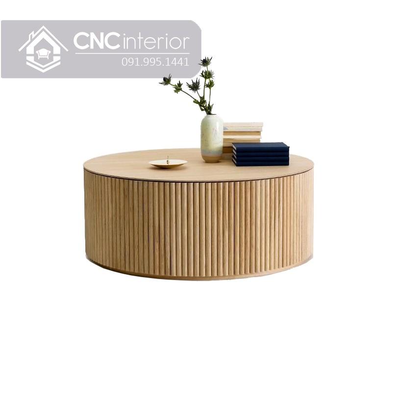 Bàn trà ngồi bệt bằng gỗ công nghiệp CNC 13