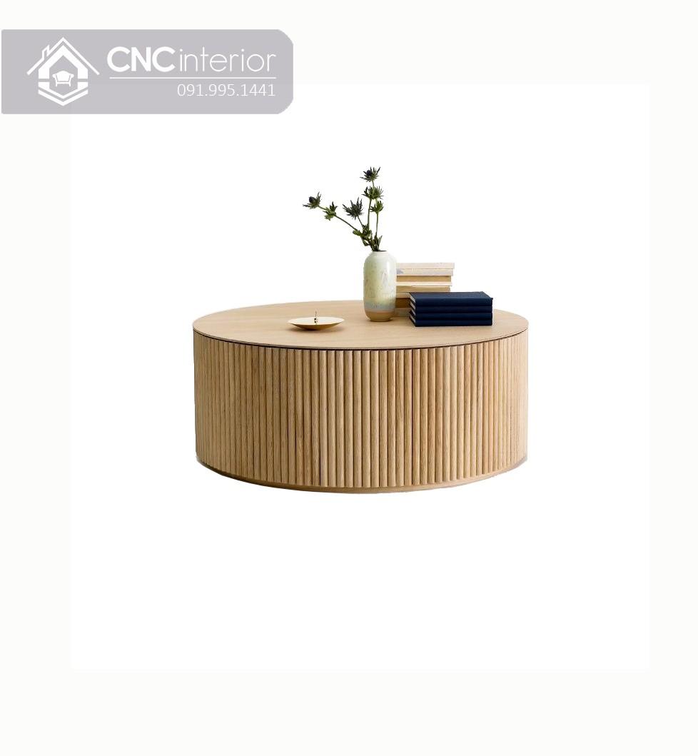Bàn trà ngồi bệt bằng gỗ công nghiệp CNC 13 1