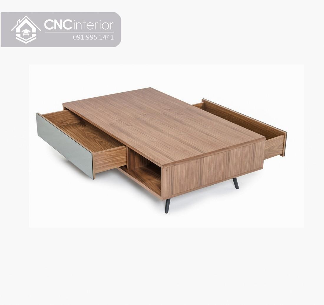 Bàn trà gỗ công nghiệp cao cấp hiện đại CNC 20