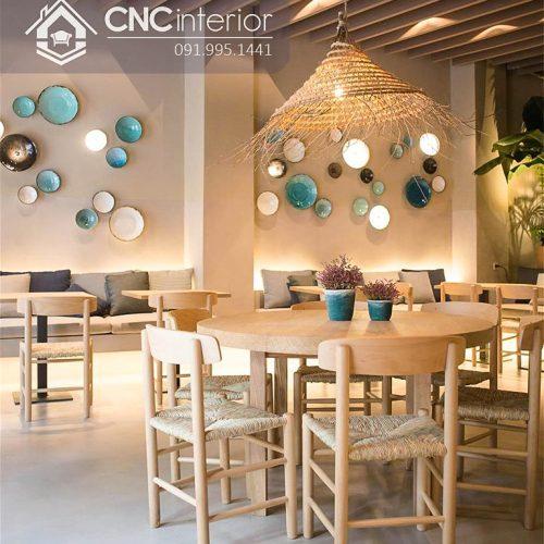 Bàn tròn nhà hàng cnc 11