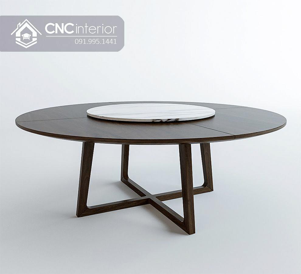 Bàn tròn nhà hàng cnc 13