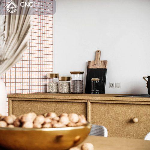 Nội thất CNC - Nhà bếp hiện đại - nhà phố chị Trang Gò Vấp