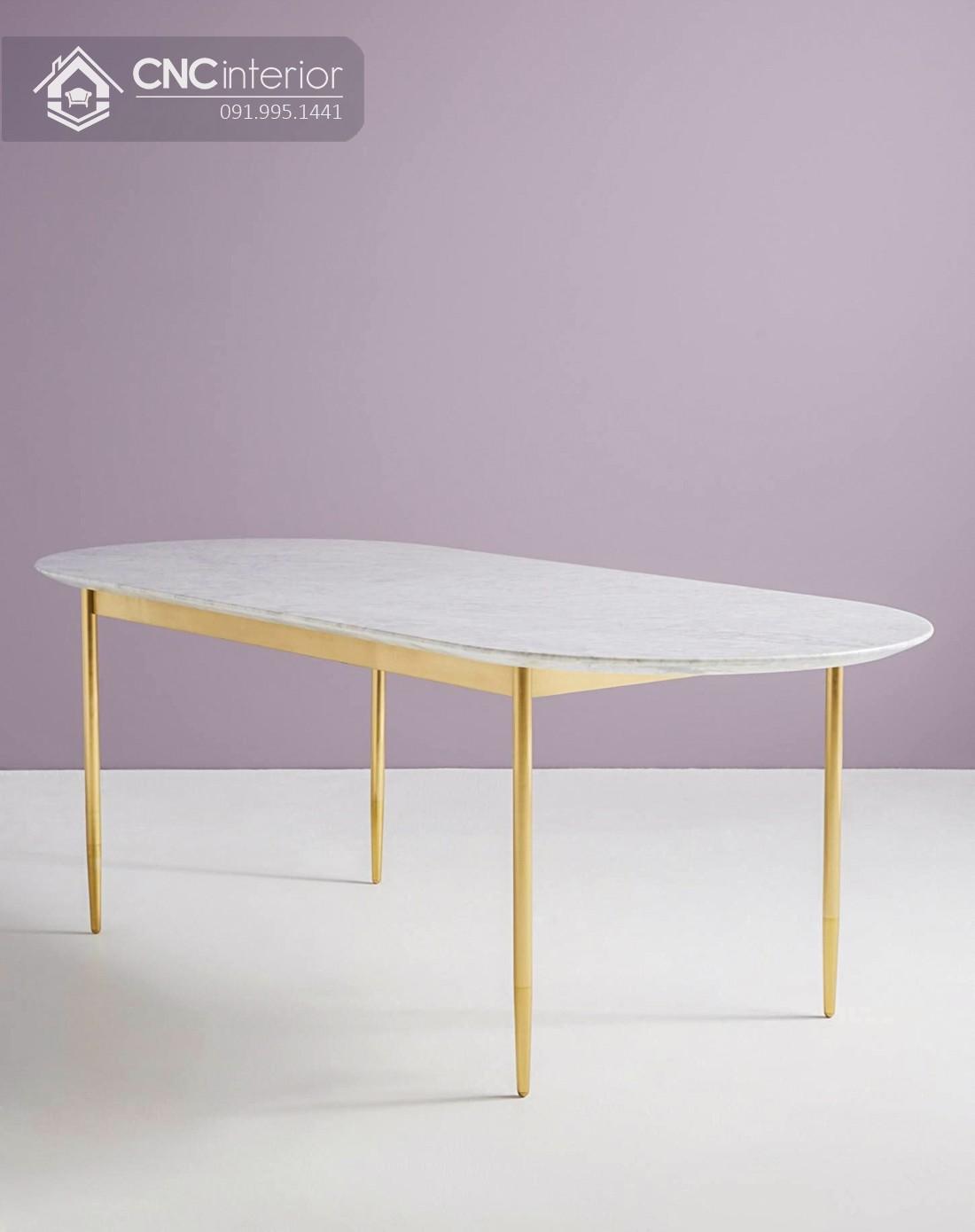Bộ bàn ăn đẹp CNC 44
