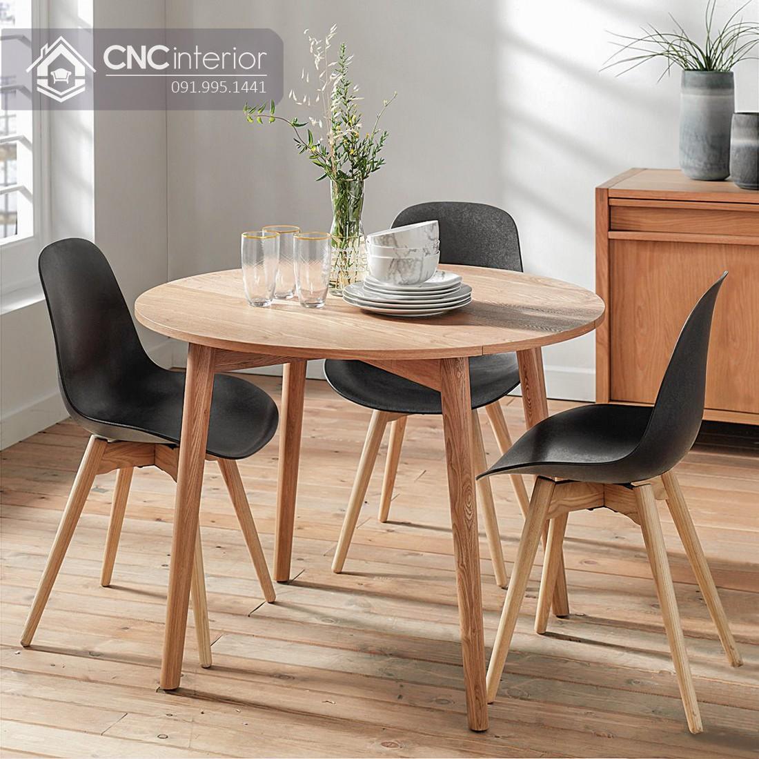 Bộ bàn ăn đẹp CNC 52