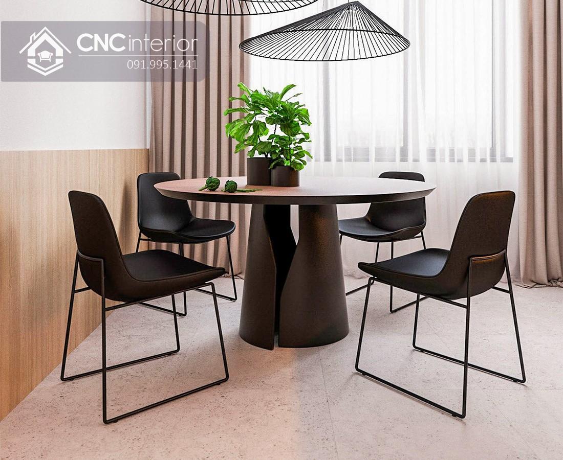 Bộ bàn ăn phong cách Contemporary CNC 59