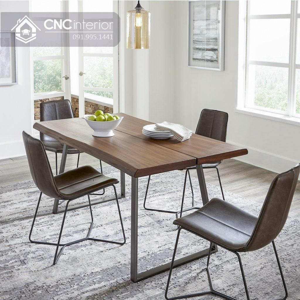 Bộ bàn ăn đẹp CNC 61