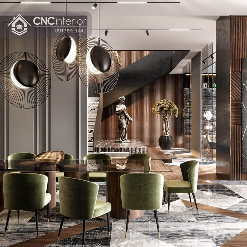 Nội thất CNC - Công trình biệt thự Natalie Gò Vấp - Chị Mai