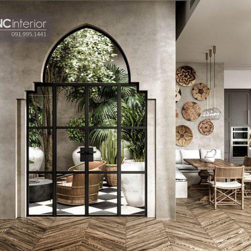 Nội thất CNC - Công trình biệt thự Secret Garden nhà Bè - Chú Tuấn