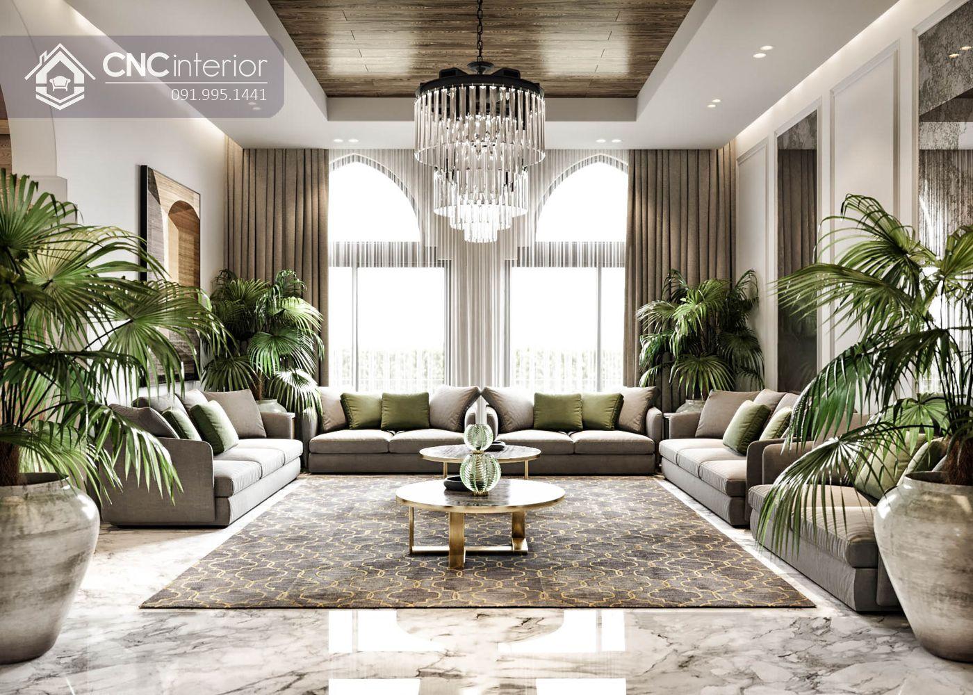 Thiết kế nội thất nhà biệt thự đẹp 1