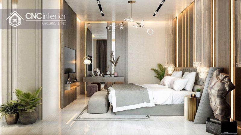 Nội thất CNC - Công trình biệt thự Thảo Điền quận 2 - Cô Dung