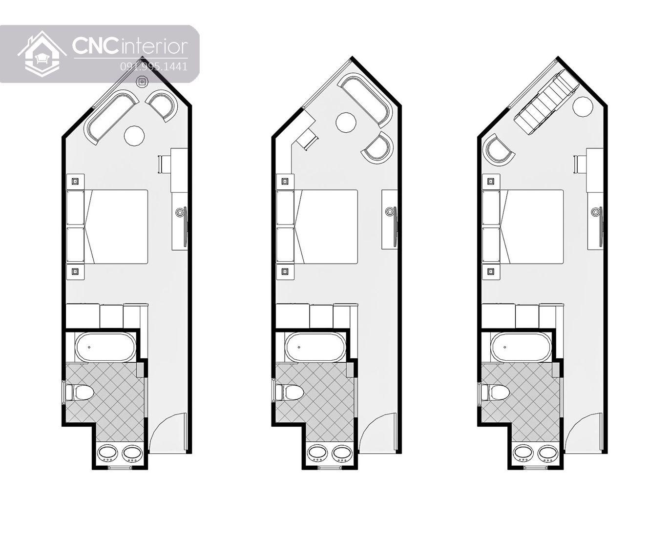 Nội thất CNC - Công trình khách sạn Valacas Nha Trang