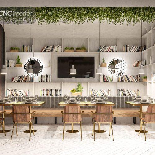 Nội thất CNC - Công trình nhà hàng City Friend Quận 1