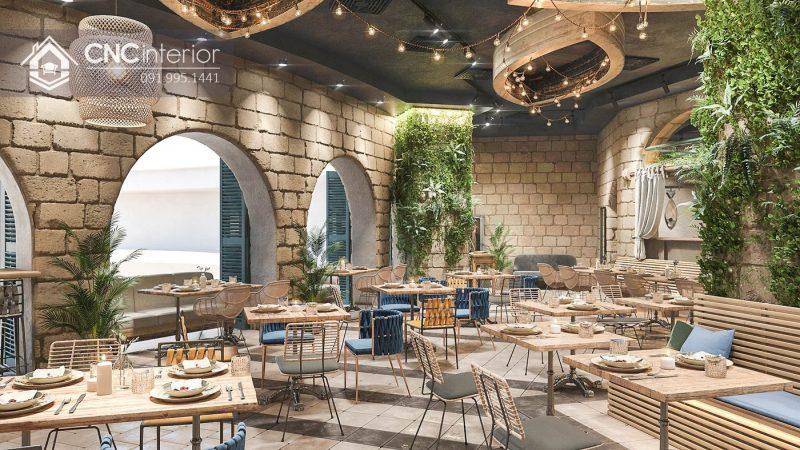 Nội thất CNC - Công trình nhà hàng Dream Garden Vũng Tàu