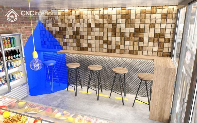 Nội thất CNC - Công trình quán cafe Kavabanda Coffee Quận 3
