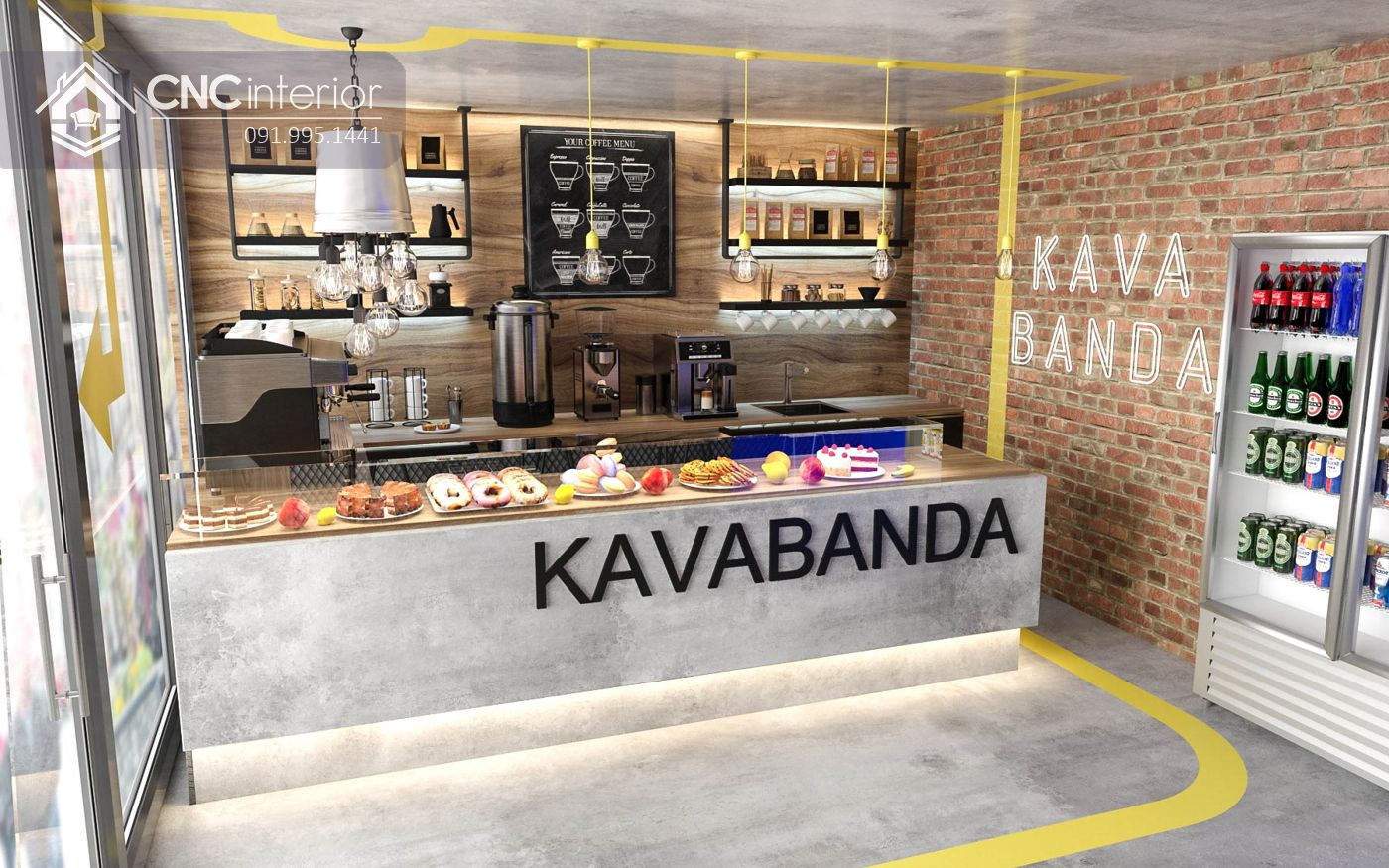 quán cafe Kavabanda Coffee quận 3