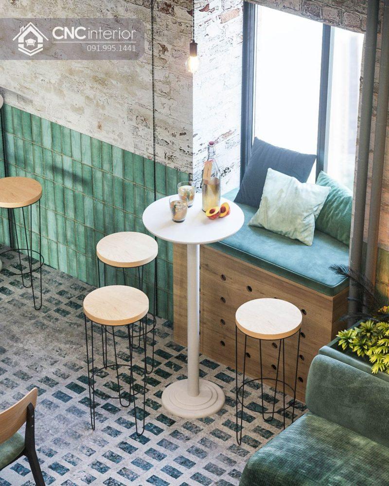 Nội thất CNC - Công trình quán cafe Lovos Coffee quận Bình Thạnh