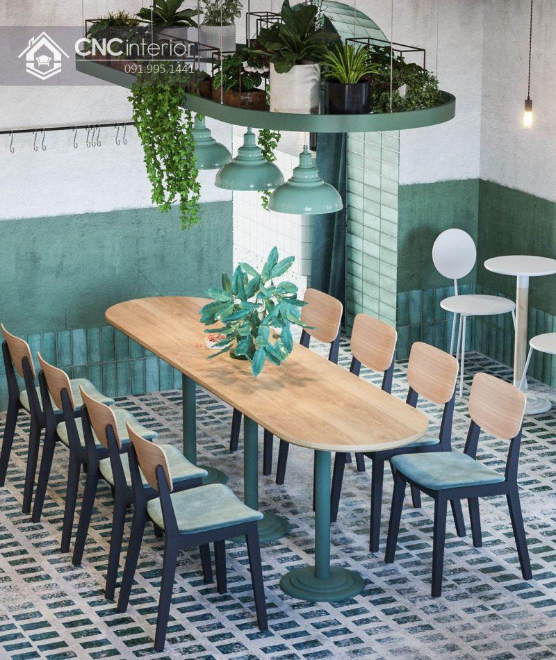 Thiết kế nội thất quán cà phê cần phân bổ khoa học 2