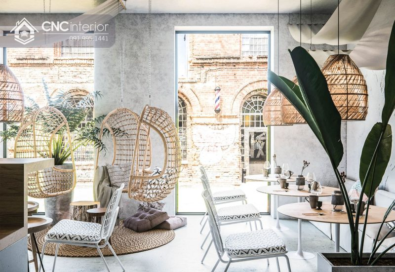 Nội thất CNC - Công trình quán cafe Sonata Đà Lạt