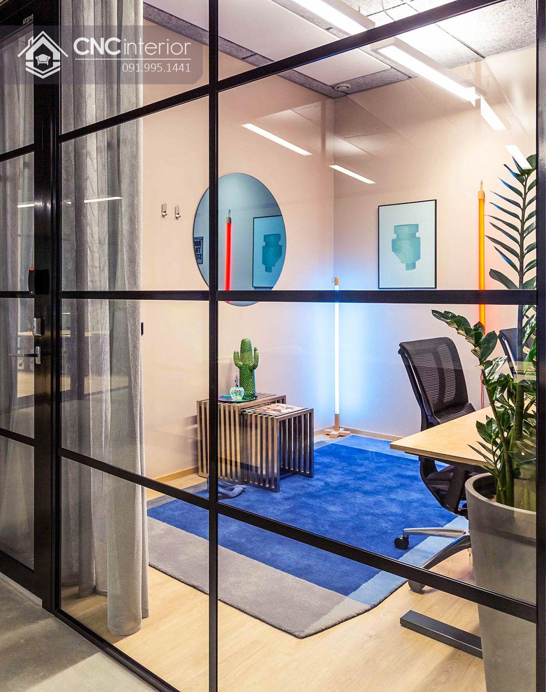 Nội thất CNC - Công trình văn phòng Domine Cao Thắng
