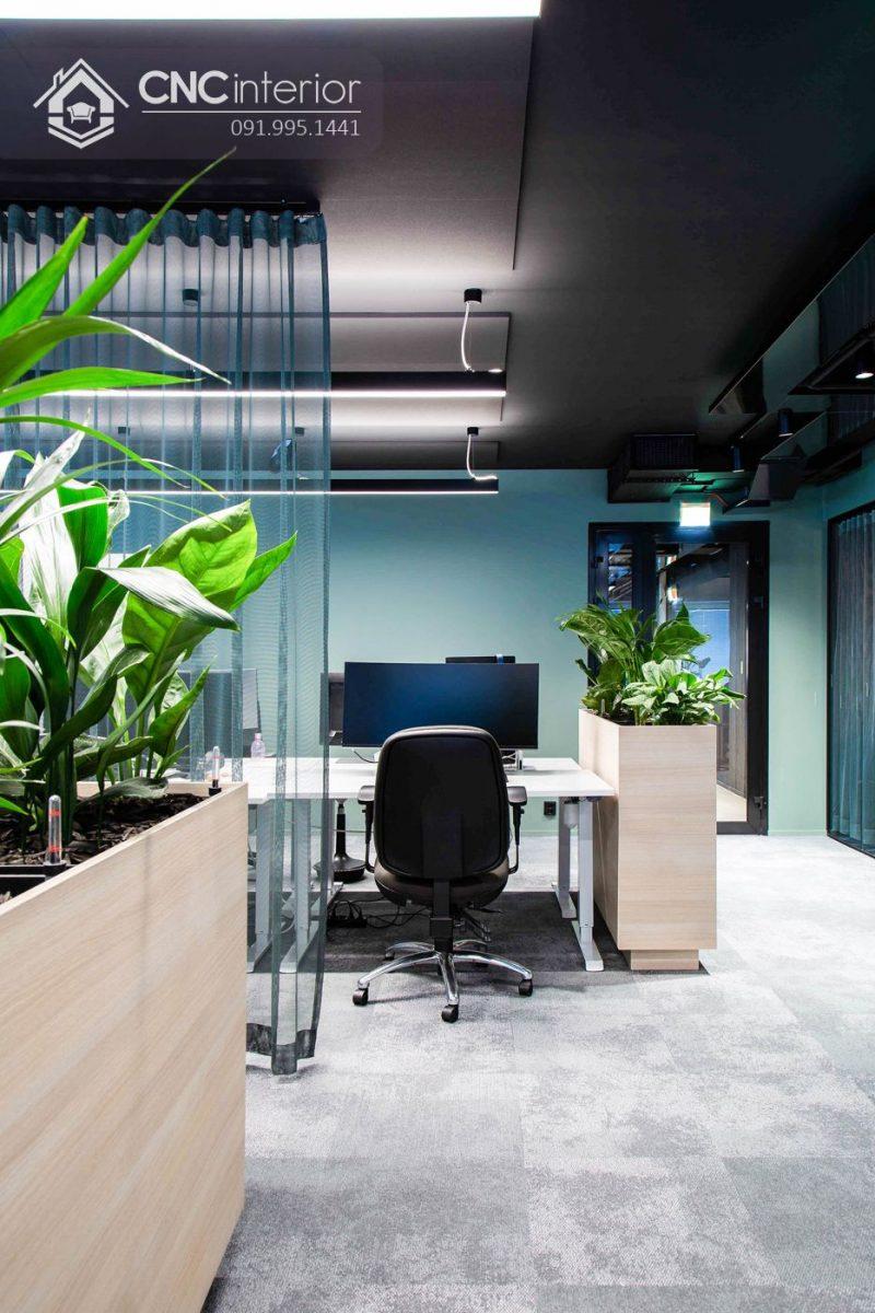 Nội thất CNC - Công trình văn phòng Lamia - quận 9