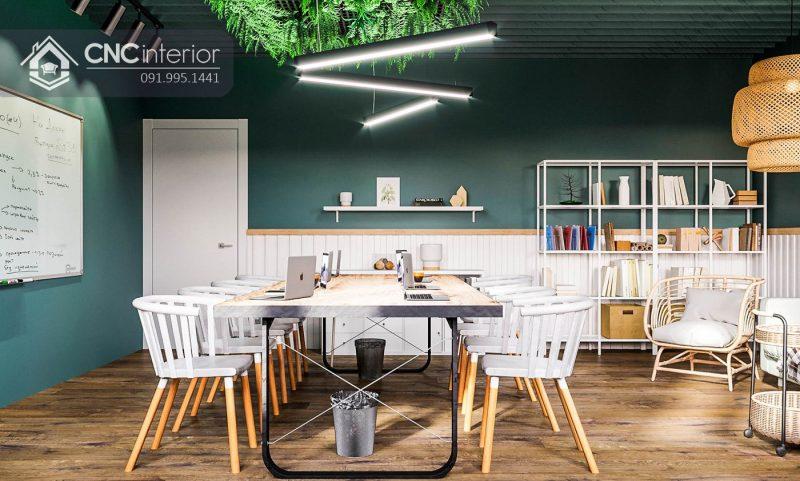 Nội thất CNC - Công trình văn phòng sắc màu Opnet Concept